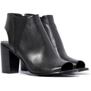 Steve Madden Nobel Open Toe Booties
